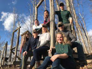 volunteering at Chestnut Mountain Ranch